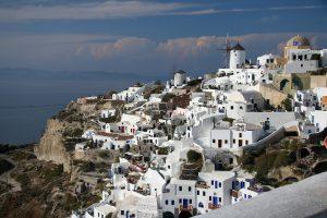 Überwintern auf Santorini